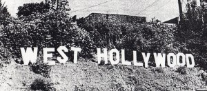 West Hollywood Sign