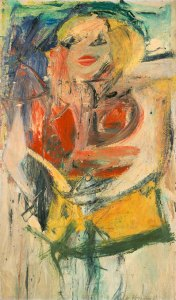 Marilyn Monroe, Willem de Kooning, 1954, o/c, 50 x 30 in Collection Neuberger Museum of Art Purchase College, State University of New York Gift of Roy R. Neuberger Photo: Jim Frank