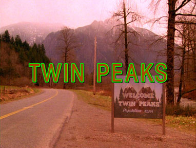 Opening title shot from David Lynch's Twin Peaks