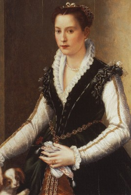 portrait painting of Isabella Medici