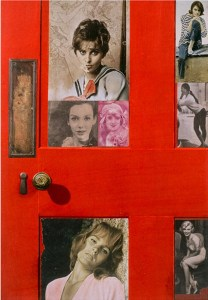Girlie Door, Peter Blake, 1959