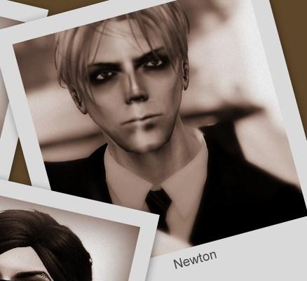 Headshot of Newton