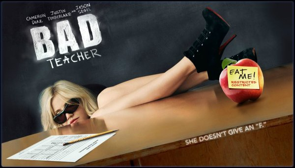 poster for the film Bad Teacher