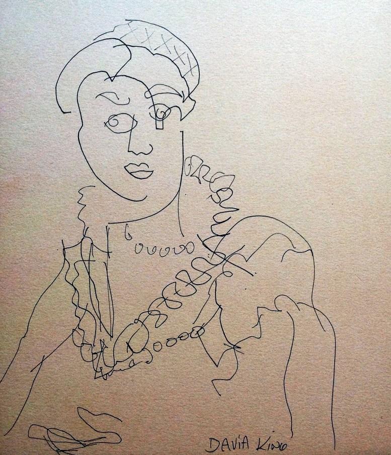 Isabella Medici by Davia King