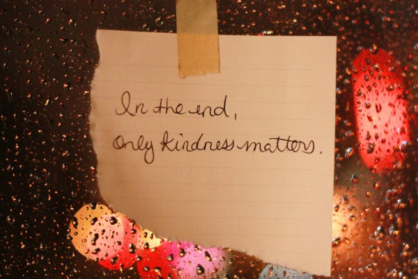 5 Simple Rules - Be Kind