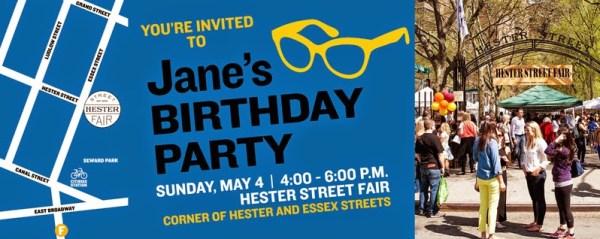 Jane's Walk Poster