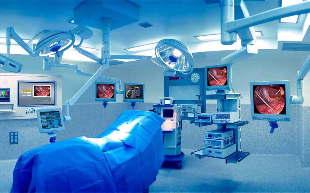 Mantenimiento, esterilización y limpieza en quirófanos