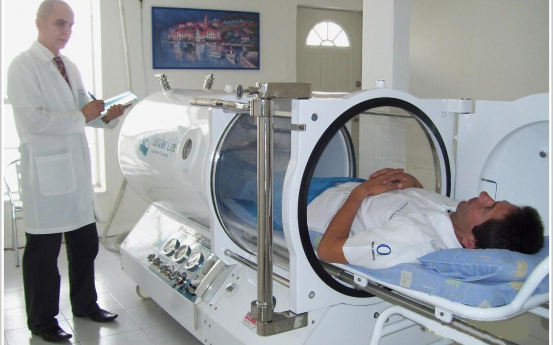 ¿Cómo funciona la medicina hiperbarica?