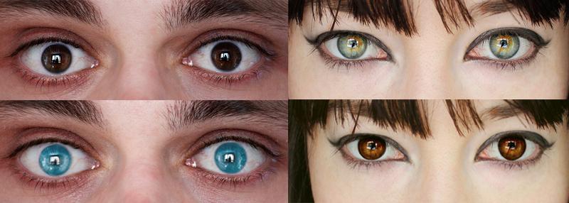 ¿De qué depende el color de los ojos?