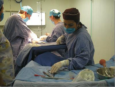 Enfermero(a) en quirófano:
