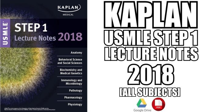 Kaplan USMLE Step 1 Lecture Notes 2018 PDF [All Subjects] | Medicos ...