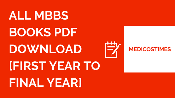 All MBBS Books PDF FREE Download [First Year to Final Year ...