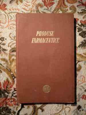 Produse farmaceutice - ministerul industriei chimice 1956-1957 12