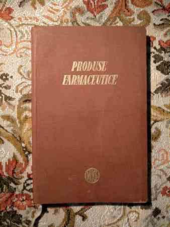 Produse farmaceutice - ministerul industriei chimice 1956-1957 4