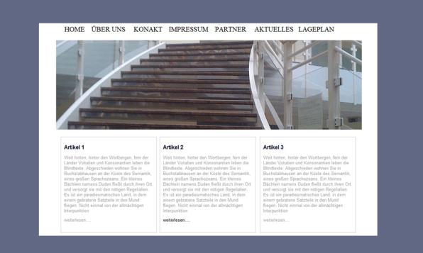 Webdesign Header 2