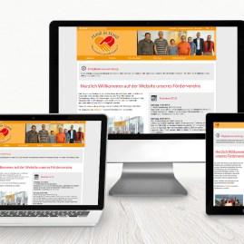 Hand in Hand - Förderverein der Lebenshilfe Bamberg e.V.: Wordpress-Website