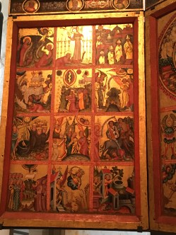 Triptych with scenes from the Apocalypse, c. 1380.