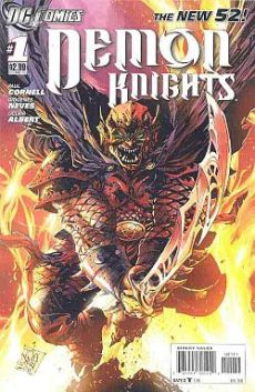 Demon Knights series, by Paul Cornell, Diogenes Neves, and Oclair Albert (2011)