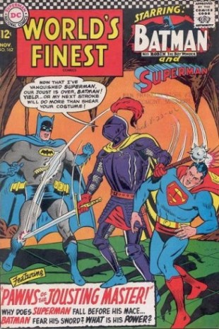 World's Finest Comics, vol. 1 #162 (September 1966), by Jim Shooter, Curt Swan and George Klein: Batman and Superman go to King Arthur's court