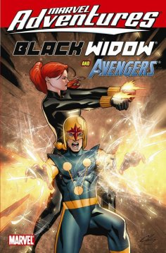 Marvel Adventures: Black Widow and The Avengers #18, by Paul Tobin, Ig Guara and Clayton Henry (2010) - features the Beinecke Rare Book and Manuscript Library and Beinecke MS 408 (Voynich Manuscript)