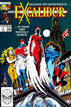 Excalibur series, by Chris Claremont and Alan Davis (first published 1988)