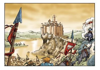 Lanfeust de Troy: Castel Or-Azur (1996)