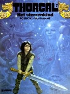 Thorgal: Het Sterrenkind, by Grzegorz Rosiński and Jean Van Hamme (1984)