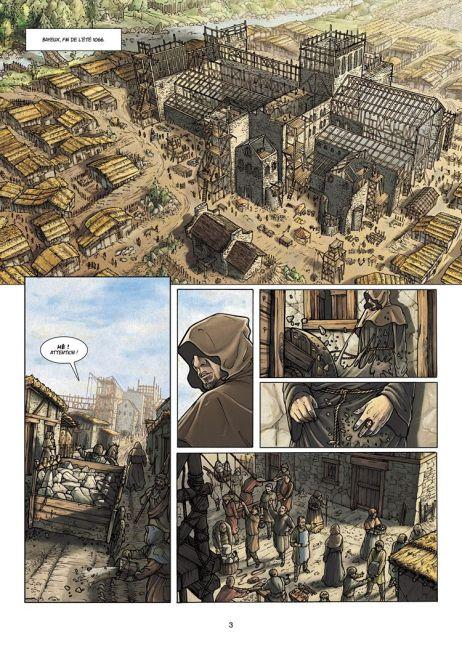 Les Voies du Seigneur, by Fabrice David and Jaime Calderón (2009)