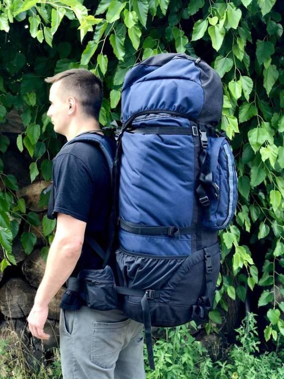 Backpack for armor 1