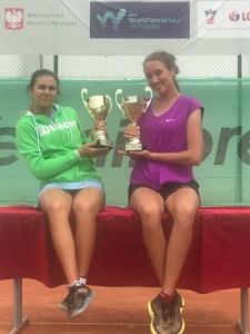 Zwycięstwo w debla w ITF junior