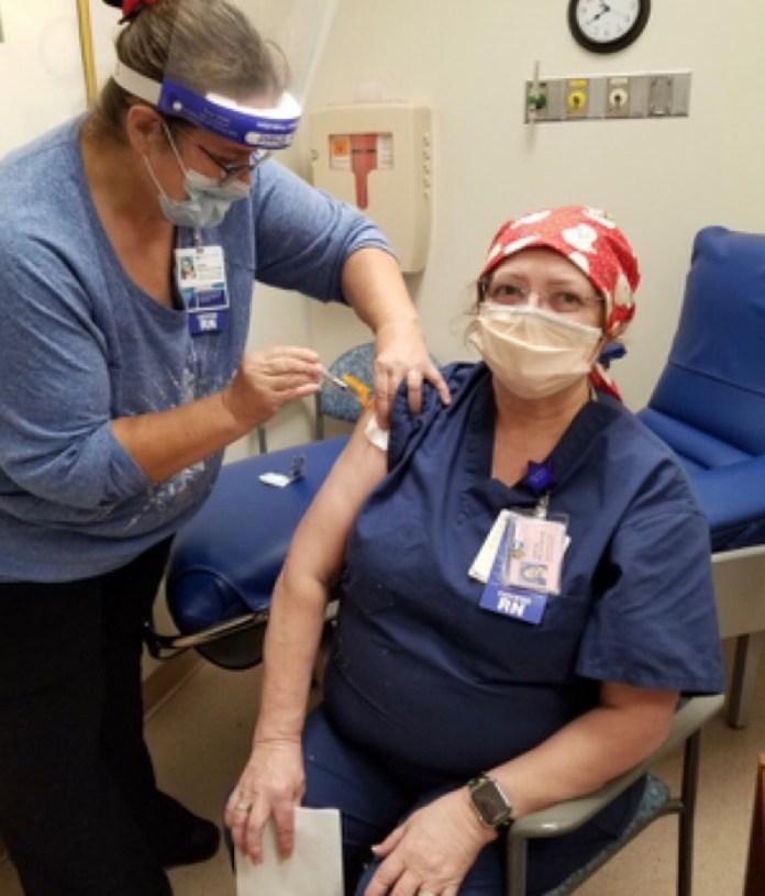 Judy Busch #vaccinechallenge