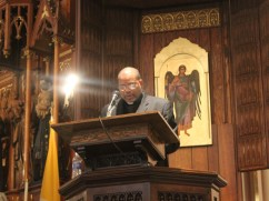 """""""The real Dr. Martin Luther King, Jr. should not only be celebrated,"""" declared keynote speaker Rev. Dwight Gardner, """"but the celebration should inspire us to resume the work for which he lived and died."""""""