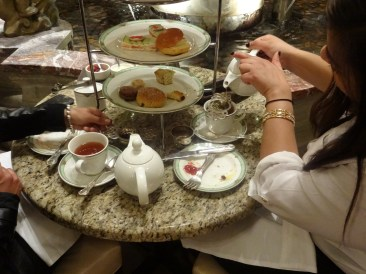 """For those celebrating a special occasion, Palm Court at the Drake Hotel offers traditional afternoon tea complete with pastries, finger sandwiches and live music. """"Teatinis"""" – tea infused cocktails – are also available upon request."""
