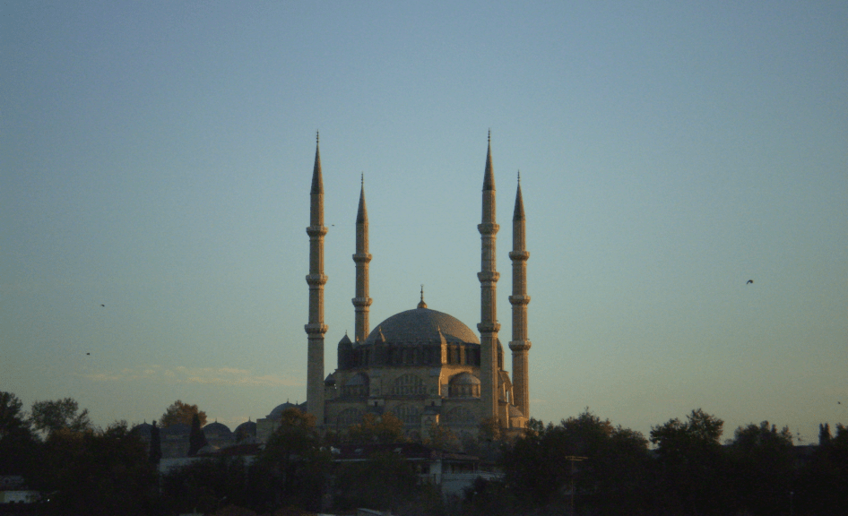 The Selimiye Mosque in Edirne Image