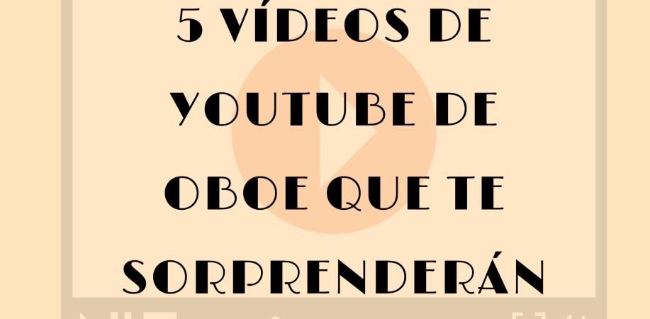 videos youtube oboe