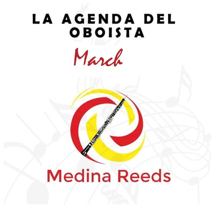 Eventos oboe marzo