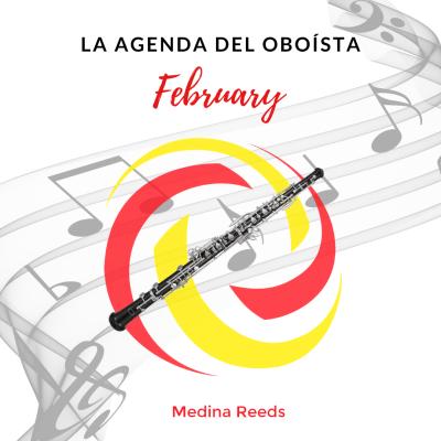 Eventos oboe febrero / oboe events february