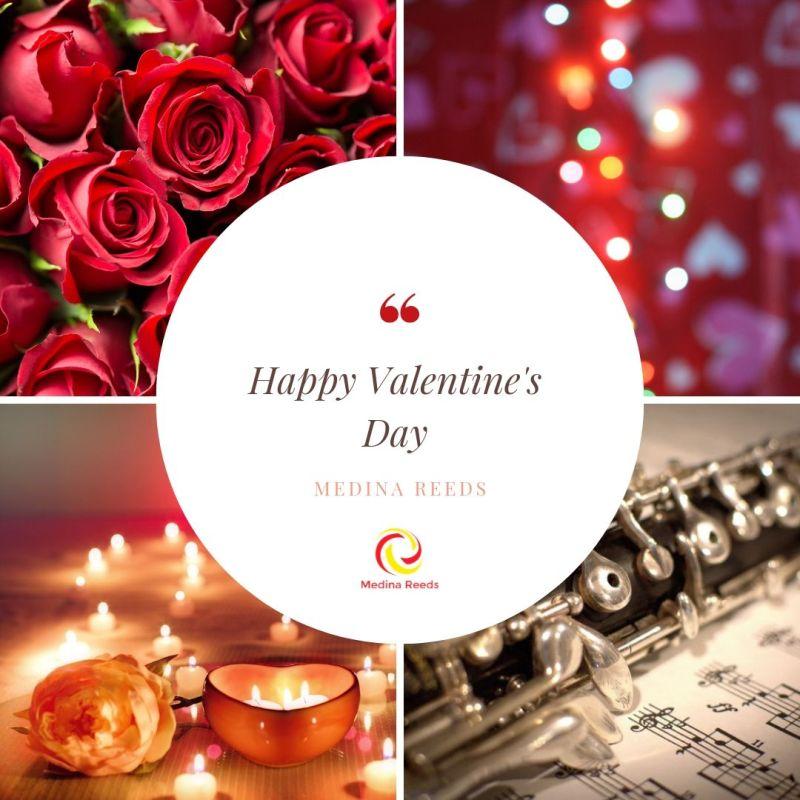 Happy valentines day oboe
