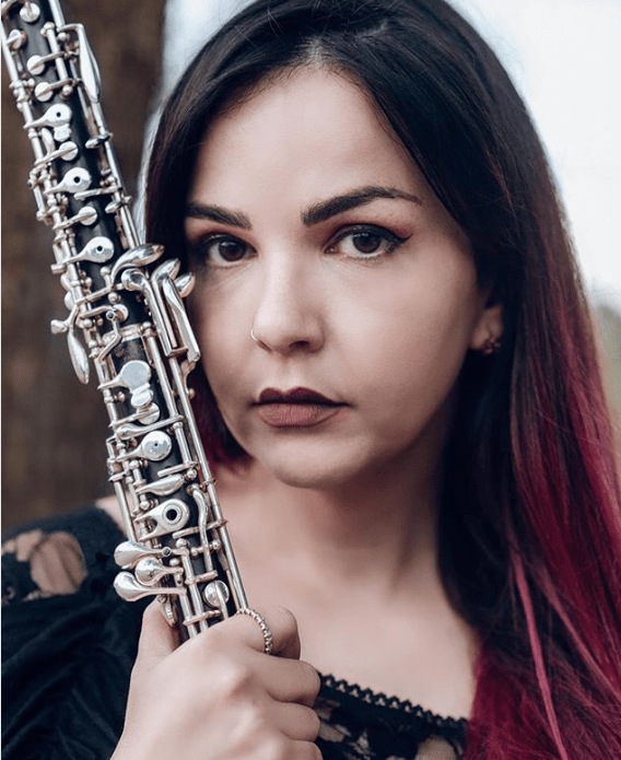 oboist of the month Maria Calvo