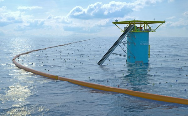 The Ocean Cleanup d