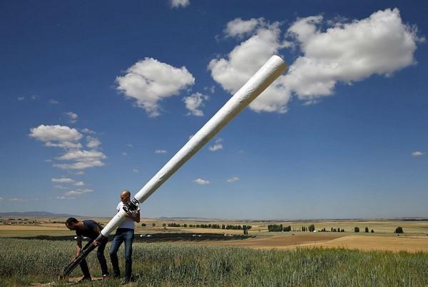 Vortex es un aerogenerador sin aspas de origen español c