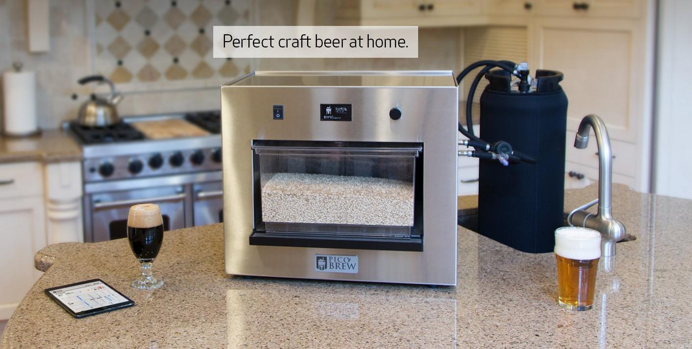 Zymatic, la máquina para fabricar cerveza casera
