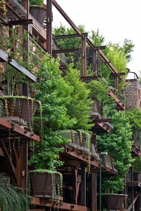 Colección de fotos de arquitectura sostenible am