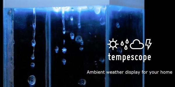 Tempescope, el indicador meteorológico más original