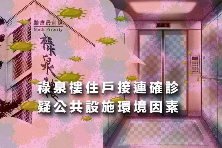 Read more about the article 【祿泉樓住戶接連確診】疑公共設施環境因素