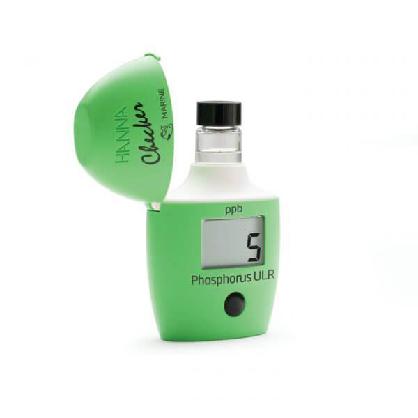 Colorímetro Checker® HC de fósforo intervalo ultra bajo para acuario de agua salada Hanna Instruments