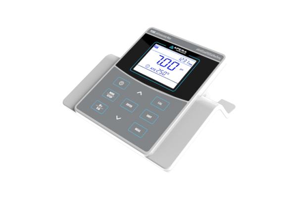 Medidor de pH y conductividad de mesa para laboratorios