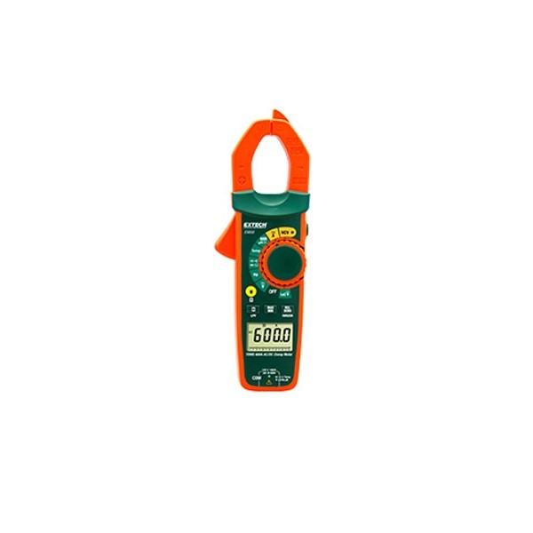 Pinza amperimétrica de CA/CC de RMS