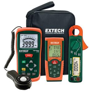 LRK15: Kit de modificación de la iluminación con pinza amperimétrica de potencia Herramientas esenciales para consultores de ahorro de energía
