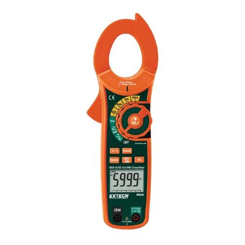 Pinza amperimétrica de corriente CA/CC de RMS